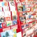 250種類以上 クリスマスカードが早くも揃いました!