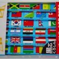 <新商品>クツワ 世界の国旗鉛筆